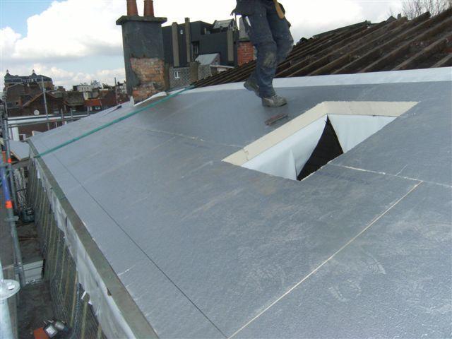 Type de toiture industrielle